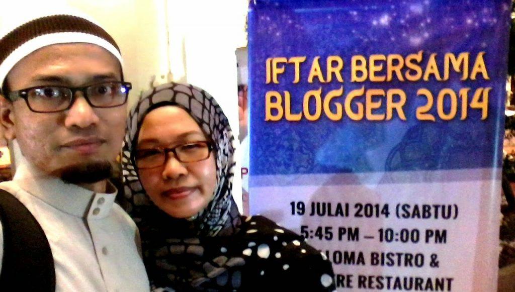 Kenangan Iftar Bersama Blogger 2014