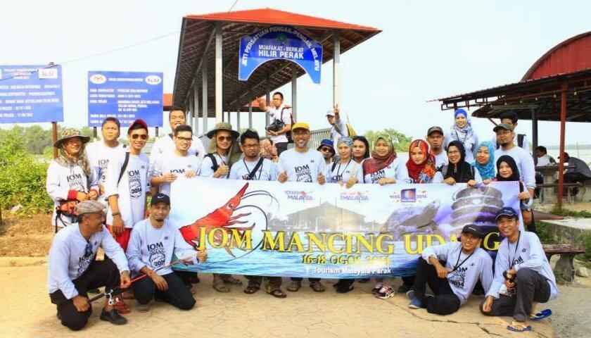 Jom Mancing Udang, Tourism Malaysia Perak,