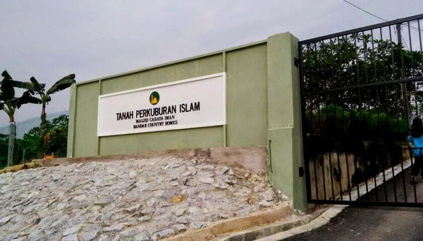 Tanah Perkuburan Islam Bandar Country Homes Rawang