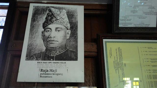 Raja Haji Upu Daeng Celak, pahlawan nusantara, Muzium Bugis,