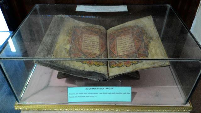 Al-Quran tulisan tangan,
