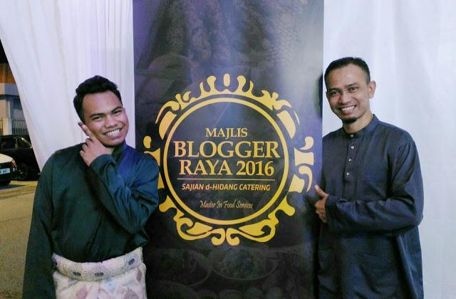 Majlis Blogger Raya 2016, Hai Blogger, Sajian dHidang, Halim Brothers,