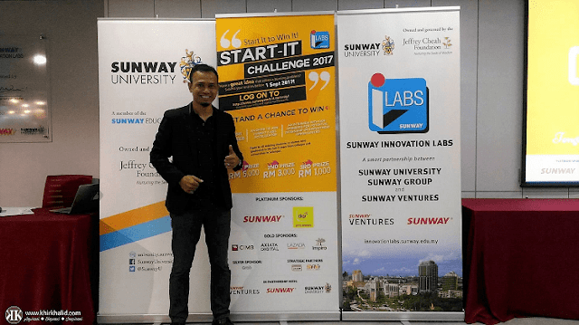 Sunway iLabs Start-it Challenge, Khir Khalid,