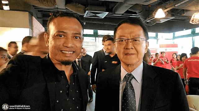 Khir Khalid, Tan Sri Datuk Sri Dr Jeffrey Cheah