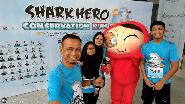 Shark Hero Conservation Run 2017 Sunsuria