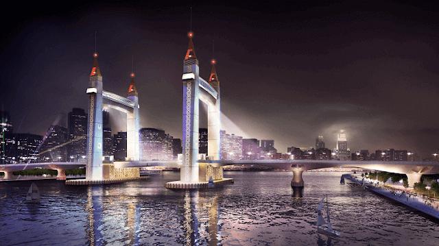 Jambatan Angkat, Drawbridge KTCC, Mercu tanda ikonik Terengganu,