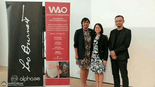Invisible Women, Women's Aid Organisation, Meera Samanther (Vice-President of WAO),