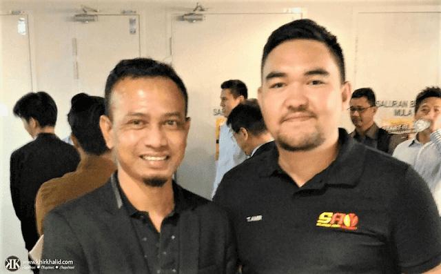 Khir Khalid, RMS Tengku Amir Shah, Raja Muda Selangor,