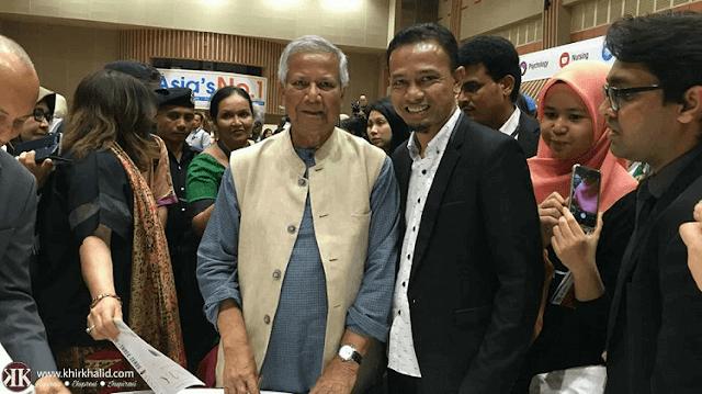 Professor Muhammad Yunus, Khir Khalid,